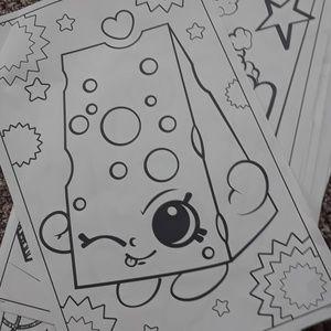 Moosejaw Bedding - 15 shoppkins coloring jumbo sheets